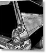 Black And White Bel Air Metal Print