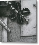 Black And White Composition IIi Metal Print