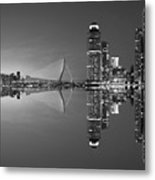 Black And White Rotterdam - The Netherlands Metal Print