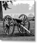 Black And White View Of The Angle Metal Print
