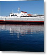 Black Ball Ferry Metal Print