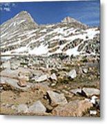 Black Bear Lake Camp - Sierra Metal Print