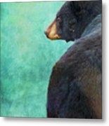 Black Bear's Bum Metal Print