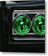 Black Beauty Clone Car Metal Print