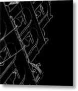 Black Bells Metal Print
