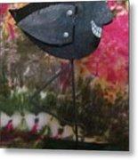 Black Bird Metal Print by David Sutter