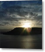 Black Butte Sunrise Metal Print