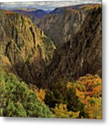 Black Canyon Of The Gunnison - Colorful Colorado - Landscape Metal Print