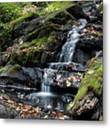 Black Creek Falls In Autumn, 2016 Metal Print