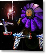 Black Dwarf Metal Print