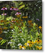 The Field Of Flowers  Metal Print