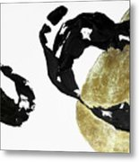 Black Gold 1 Metal Print