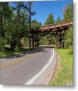 Black Hills Bridge 1 Metal Print