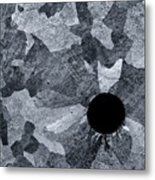 Black Hole - Galvanized Steel - Abstract Metal Print