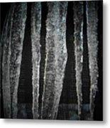 Black Ice Metal Print