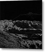 Black Ice Metal Print