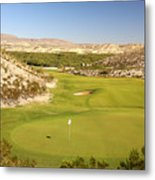 Black Jack's Crossing Golf Course Hole 12 Metal Print