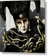 Black Jester Metal Print