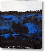 Black Lace Metal Print by KR Moehr