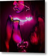 Black Light Passion Metal Print