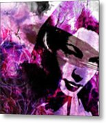 Black Magic Women Metal Print