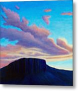 Black Mesa Sunset Metal Print