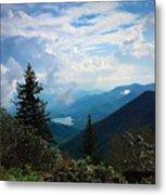 Black Mountain On Blue Ridge Metal Print