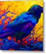 Black Onyx - Raven Metal Print