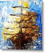 Black Pearl Metal Print