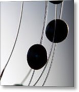 Black Pearls Metal Print