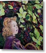 Blackberry Elf Metal Print