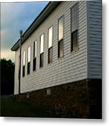Blackburn Church Sunset Metal Print