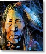 Blackfoot Woman Metal Print