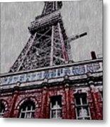Blackpool Tower Metal Print