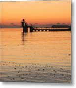 Blackrock Sunset Metal Print