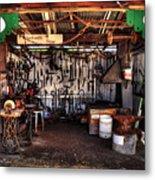Blacksmith Shop By Kaye Menner Metal Print