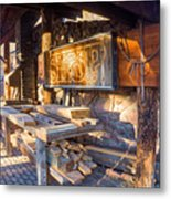 Workshop Metal Print