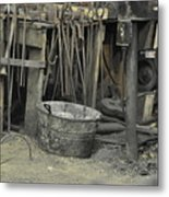 Blacksmith's Bucket Metal Print