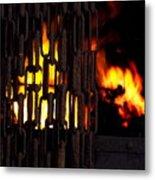 Blacksmiths Furnace Metal Print