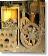 Blacksmiths Shop Metal Print