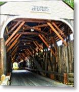 Blair Bridge, Campton Nh Metal Print