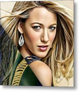 Blake Lively Collection Metal Print