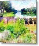 Blanco River Metal Print