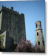 Blarney Castle And Tower County Cork Ireland Metal Print