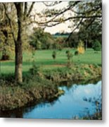 Blarney Castle Grounds Metal Print