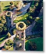 Blarney Castle Ruins In Ireland Metal Print