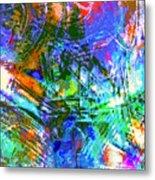 Bleached Vibrance Metal Print