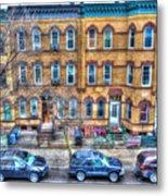 Bleecker Street In Bushwick - Brooklyn Metal Print