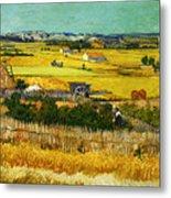 Blend 17 Van Gogh Metal Print