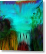 Lands Under The Sea - Abstract Landscape Metal Print